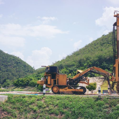 Geotechnical services drilling site exploration